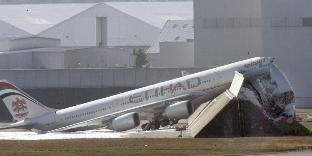 How A New A340 Ended Up Written Off Before It Was Even Delivered